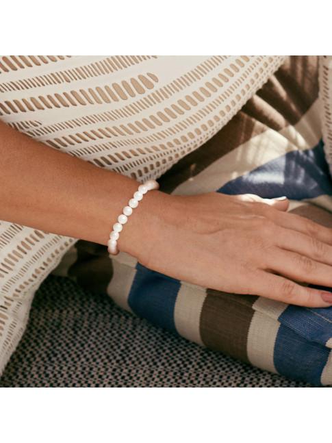 Bracelet Jade White
