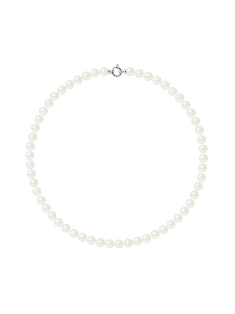 Collier Gill White - Or Blanc